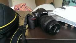 Nikon D5200 Kit. 20 и более Мп, зум: 3х