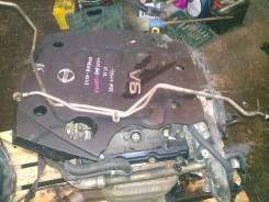 Трубка радиатора охлаждения акпп. Nissan Stagea, M35 Двигатель VQ25DD
