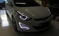 Линза фары. Hyundai Elantra, HD Двигатели: G4FC, G4GF. Под заказ