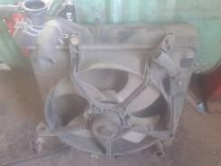 Радиатор охлаждения двигателя. Honda Jazz Honda Fit, GD1, UA-GD4, CBA-GD4, UA-GD2, DBA-GD2, UA-GD3, DBA-GD1, DBA-GD4, DBA-GD3, CBA-GD3, UA-GD1 Двигате...