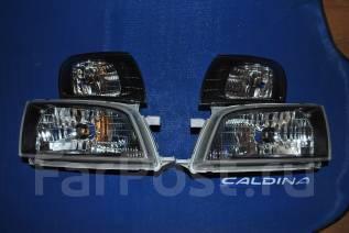 Фара. Toyota Caldina, AT191, AT191G, ST190, ST190G, ST191, ST191G, ST195, ST195G Двигатели: 3SFE, 3SGE, 4SFE, 7AFE