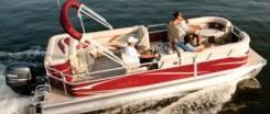 Морской алюминиевый понтонный катер-катамаран. Год: 2016 год, длина 5,85м., двигатель подвесной, 115,00л.с., бензин