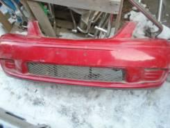 Бампер передний Mazda  MPV LWEW LW5W  2001г Япония