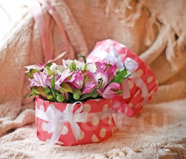 Владивосток цветы в коробке