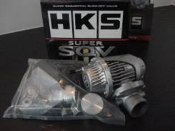 Перепускной клапан SQV3 EVO4-6 CN9A/CP9A 4G63, HKS 71007-AM006, передний