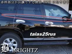 Молдинг стекла. Toyota Land Cruiser Prado, GDJ150W, GRJ150L, GDJ151W, KDJ150L, GRJ150W, GRJ151W, TRJ150W
