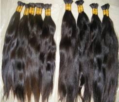 Волосы натуральные для наращивания в срезах