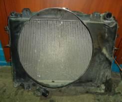 Радиатор охлаждения двигателя. Nissan Vanette, SK22VN Двигатель F8