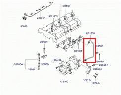 Трубка насоса топливного высокого давления. Kia Bongo Kia Carnival Двигатель J3