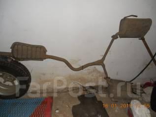 Выхлопная труба. Subaru Forester, SH5