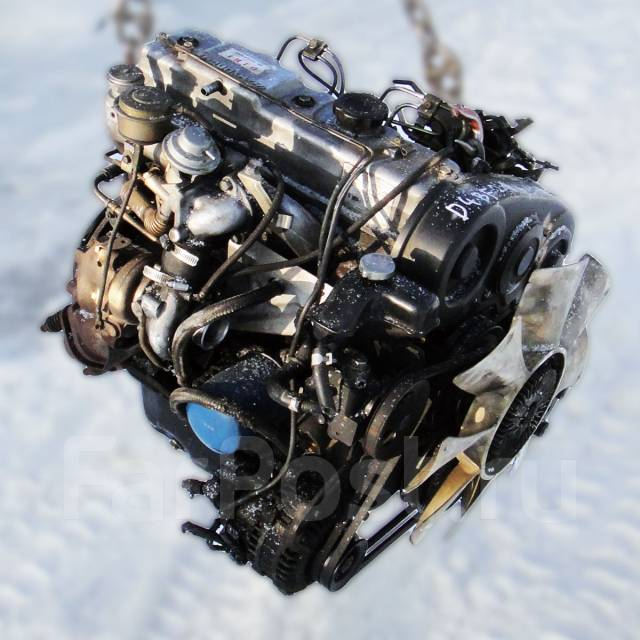 Контрактный б/у двигатель D4BF на Hyundai