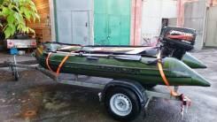 Quicksilver. Год: 2009 год, длина 3,80м., двигатель подвесной, 25,00л.с., бензин