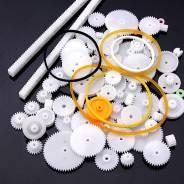Шестеренки пластиковые, набор 75 штук