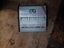 Крышка двигателя. Toyota Mark II Wagon Qualis, MCV21W, MCV21 Toyota Mark II Двигатели: 1MZFE, 2MZFE