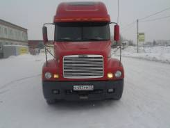 Freightliner Century. Сцепка. , полуприцеп Schmitz, 2 500 куб. см., 30 000 кг.