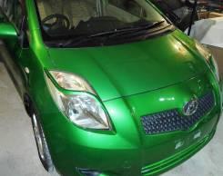 Накладка на фару. Toyota Vitz, KSP90, NCP95, NCP91, SCP90