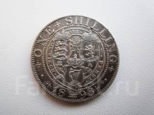1 шиллинг 1898 г. Серебро.