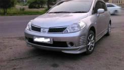 Обвес кузова аэродинамический. Nissan Tiida Nissan Latio. Под заказ