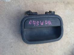 Ручка двери внешняя. Mitsubishi Chariot, N43W Двигатель 4G63