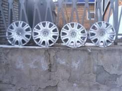 """Колпаки на Skoda Octavia A5, оригинал, R15 Gaspra, состояние новых. Диаметр 15"""", 4 шт."""