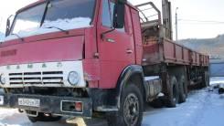 Камаз 5410. Продается с полуприцепом, 10 850 куб. см., 15 000 кг.