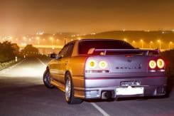Спойлер. Nissan Skyline, ER34
