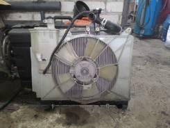 Радиатор охлаждения двигателя. Toyota Vitz, NCP13, NCP131 Toyota Platz Двигатель 1NZFE