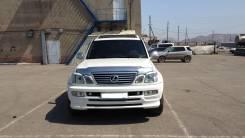 Накладка на фару. Toyota Land Cruiser Cygnus, UZJ100W Toyota Land Cruiser, FZJ100, UZJ100W, HDJ100, UZJ100, UZJ100L, HDJ100L, J100 Lexus LX470, UZJ100