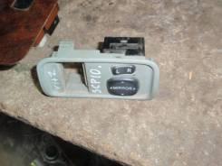 Кнопка управления зеркалами. Toyota Vitz, SCP10 Двигатель 1SZFE