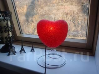 Светильник в виде сердца