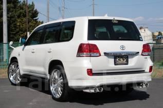 Обвес кузова аэродинамический. Toyota Land Cruiser Lexus LX570. Под заказ