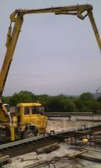 Услуги бетононасоса (швинг) бетон