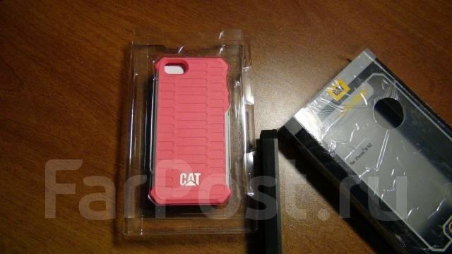 1c41b65c864c Чехол для телефона противоударный Apple iPhone 5 5S от Caterpillar CAT во  Владивостоке