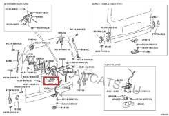 Ручка двери внешняя. Toyota Hiace, KDH202, TRH223, TRH201, KDH212, KDH201, KDH223, TRH203, KDH203, TRH213, TRH221, LH202, KDH220, LH200, LH222, LH212...