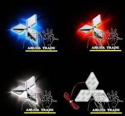 Подсветка под логотип, эмблему Mitsubishi (Митсубиси) Белый