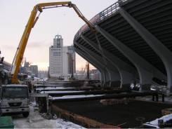Бетононасос строительство подземных объектов