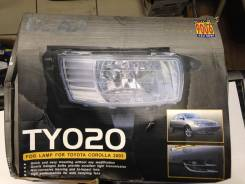 Фара противотуманная. Toyota Corolla, NZE120, NZE121, NZE124, CE121, ZZE124, ZZE122