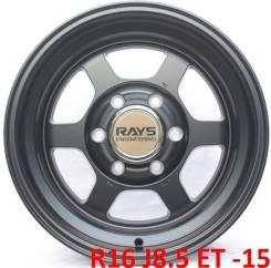 RAYS. 8.5x16, 6x139.70, ET-15, ЦО 110,0мм.
