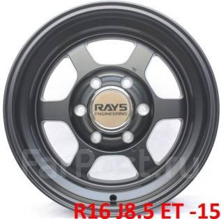 """RAYS. 8.5x16"""", 6x139.70, ET-15, ЦО 110,0мм."""