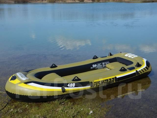 купить лодку fishman 400