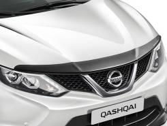 Дефлектор капота. Nissan Qashqai, J11 Двигатели: MR20DE, H5FT, R9M. Под заказ