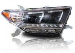 Фара. Toyota Highlander, GSU40L, ASU40, GVU48, GSU40, GSU45 Двигатели: 2GRFE, 1ARFE, 2GRFXE. Под заказ