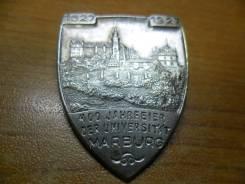 Знак«400 лет университету Марбурга»1927, Германия, Веймарская республика