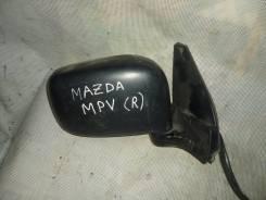 Зеркало заднего вида боковое. Mazda MPV, LVLR Двигатель WLT