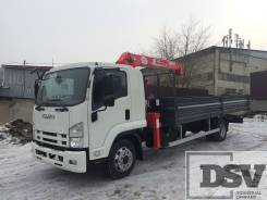 Isuzu Forward. Борт-кран (FSR90SL-N) c КМУ UNIC UR-V374, 5 193 куб. см., 5 960 кг. Под заказ