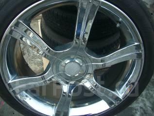 Продам колёса шикарный хром R20 на отличной резине. 8.5x20 5x114.30 ET30 ЦО 73,0мм.