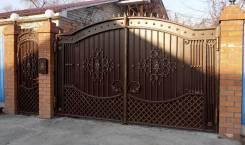 Художественная ковка, сварочные рботы, ворота, заборы, перила, козырьки