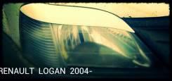 Накладка на фару. Renault Logan, LS, LS0G/LS12 Двигатели: D4D, D4F732, K4M, K4M690, K7J, K7J710, K7M, K7M710, K9K792, K9K796