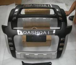 Накладка на бампер. Nissan Qashqai