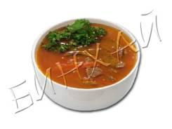 Суп с говядиной и помидором (чашка)